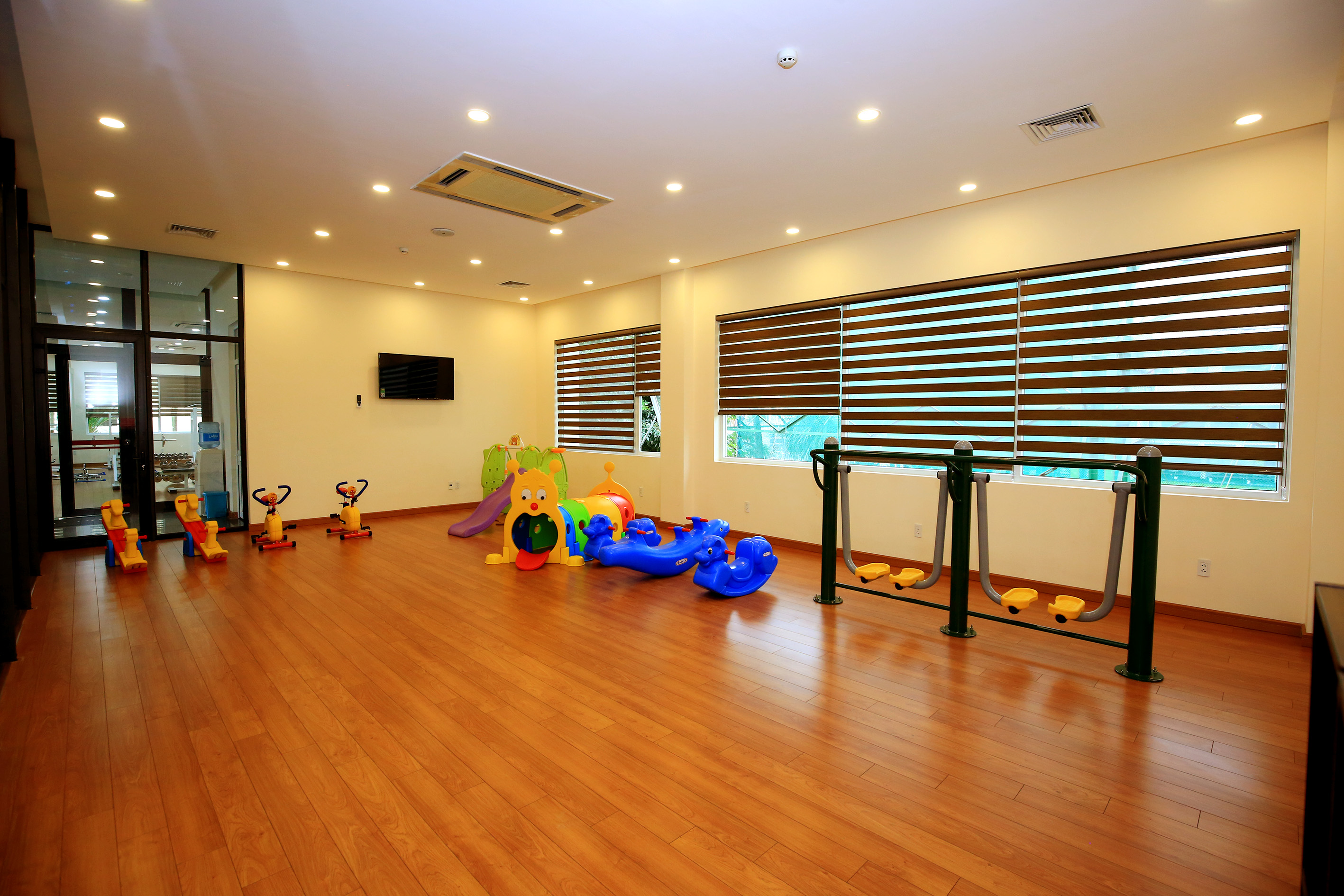 Gym & Kids Room